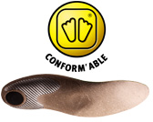 Conform'able inlegzolen