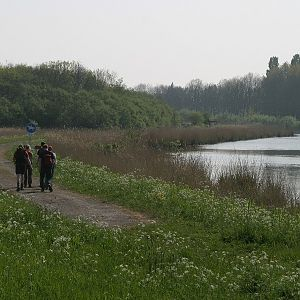 langs de Bernisse